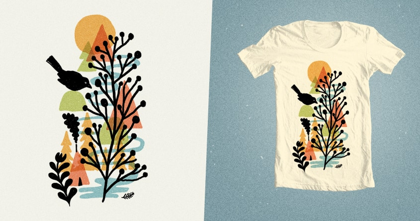 Autumn Forest by apparatet on Threadless