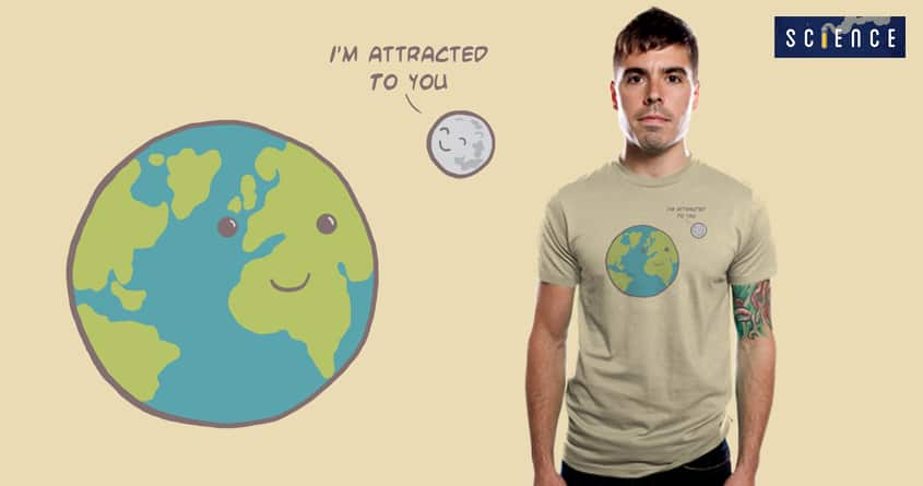 Gravitational attraction by bandy on Threadless