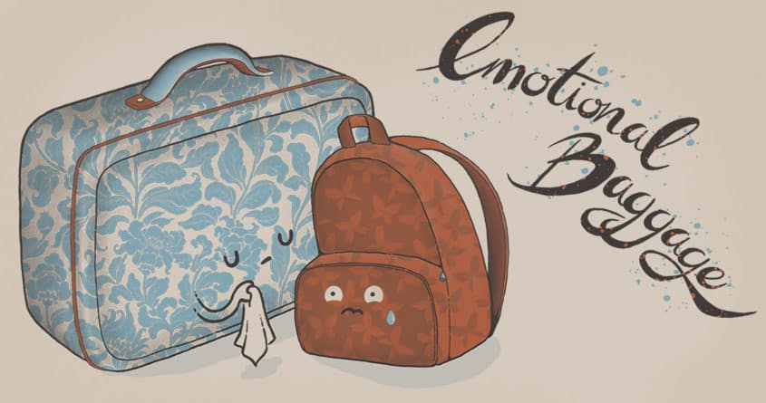 I hate goodbyes by celandinestern on Threadless