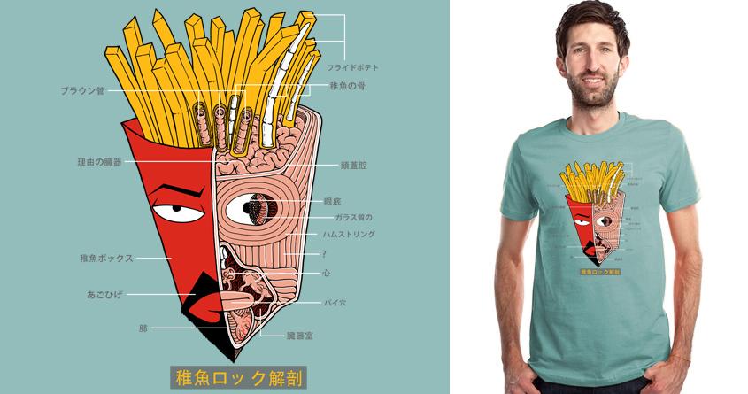 Frylock Anatomy by Doodle by Ninja! on Threadless