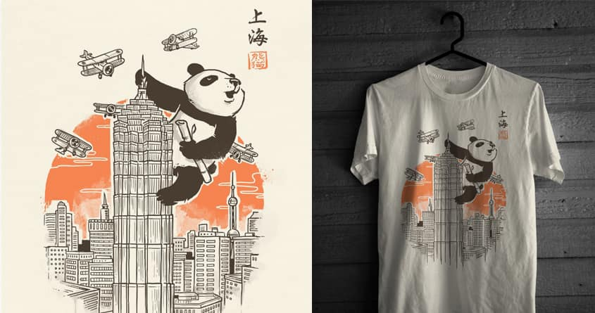 Meanwhile in Shanghai by temyongsky and rua_bloodrust on Threadless