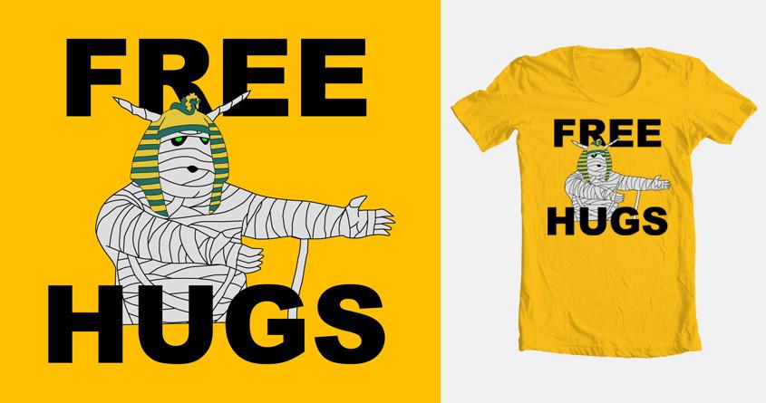HUUUUUGS!!! by ilovegravy on Threadless
