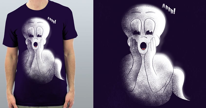 Ghost Alone by shesmatilda on Threadless