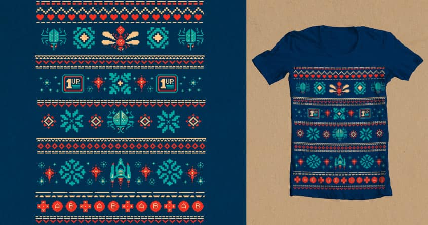 Pixel Knit by David Maclennan on Threadless