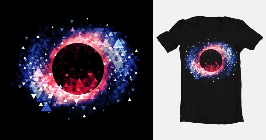 Black Hole by etdraws on Threadless