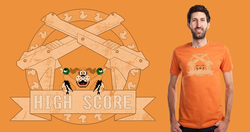 High Score by conceptart12 on Threadless