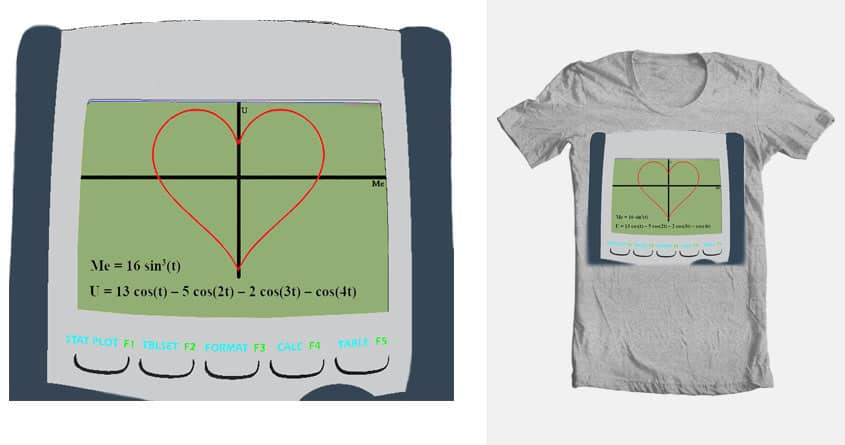 Parameterize My Heart by Belzzz on Threadless