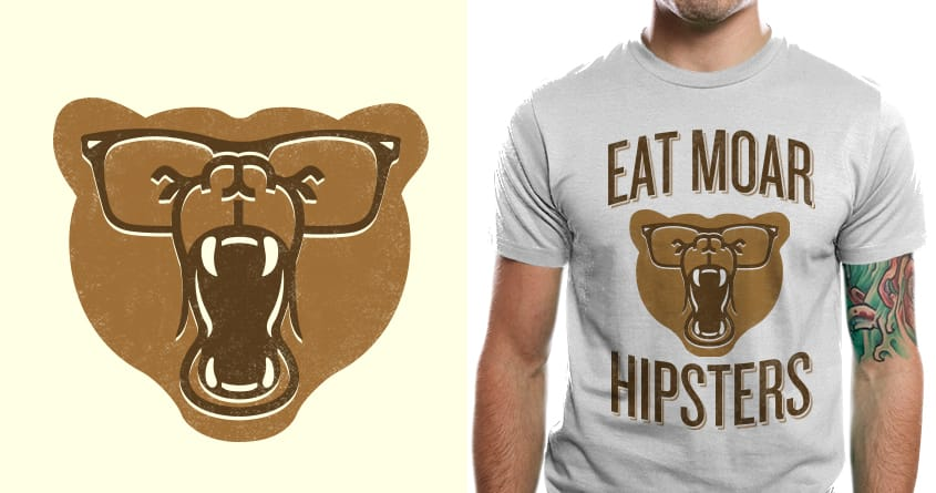 Eat Moar Hipsters by murraymullet on Threadless