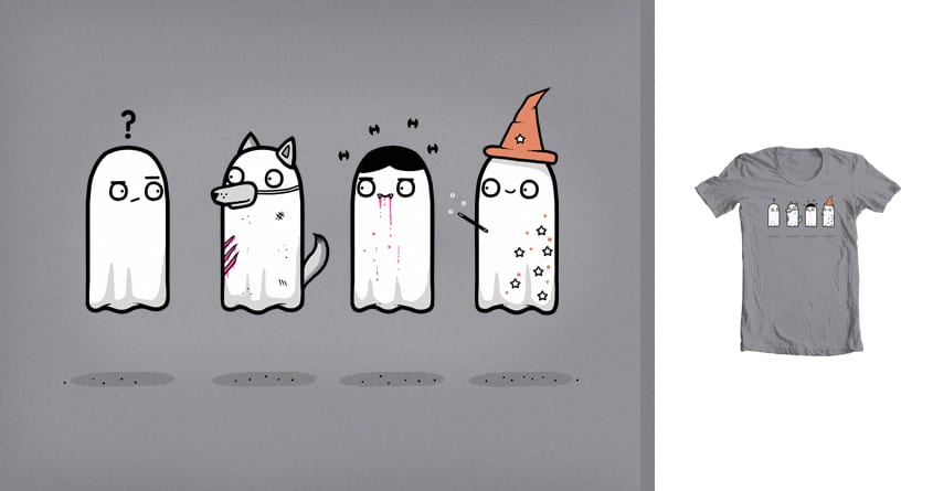 Ghastly fancy dress by randyotter3000 on Threadless