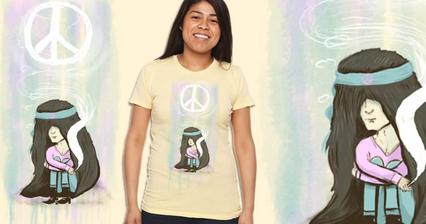 All I Want Is Peace by JIMDAHOUSECAT on Threadless