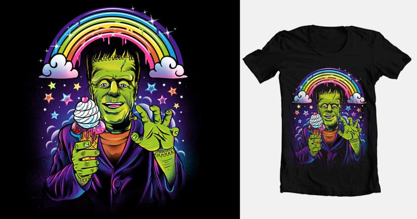 Lisa Frankenstein  by uncannyxjen and dandingeroz on Threadless