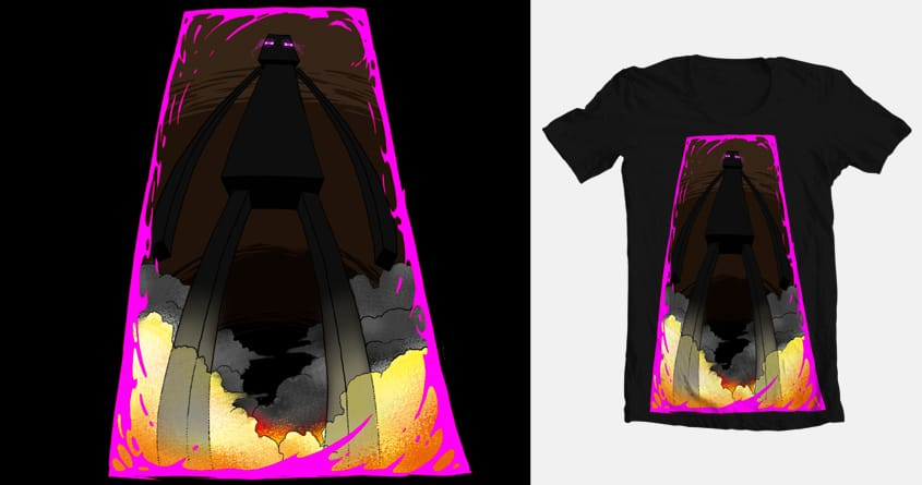 The Great Enderman! by MarkMorbidity on Threadless