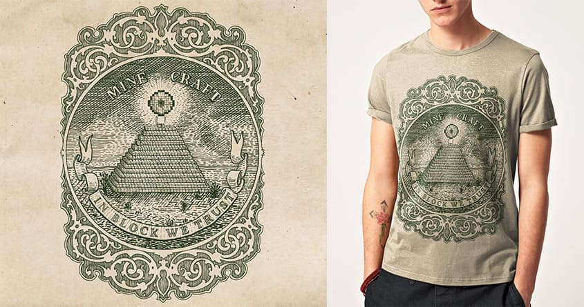 In Block We Trust by speakerine on Threadless