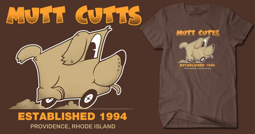 Mutt Cutts by Doodle by Ninja! on Threadless