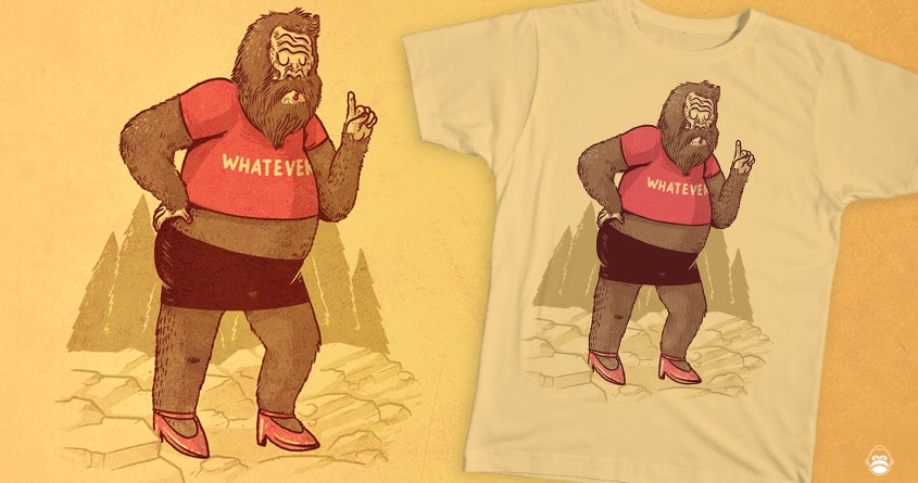 Sassquatch by alexmdc and merkinspurlock on Threadless