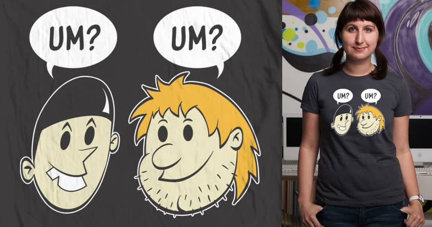 d um? b by Doodle by Ninja! on Threadless