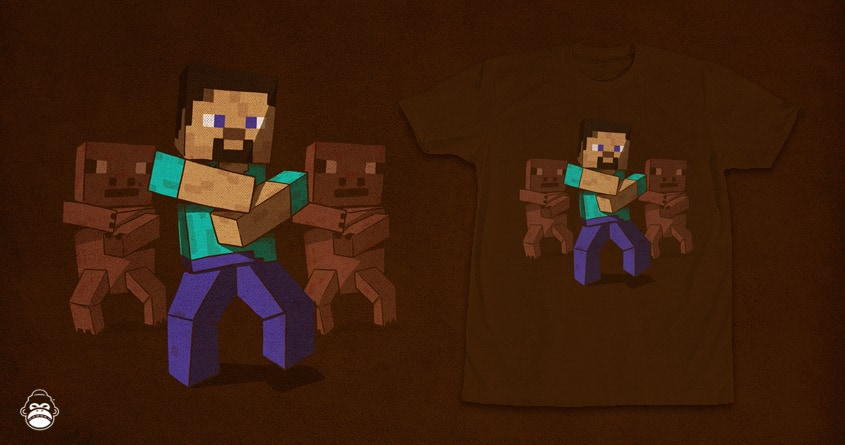 Minecraft Style by alexmdc on Threadless