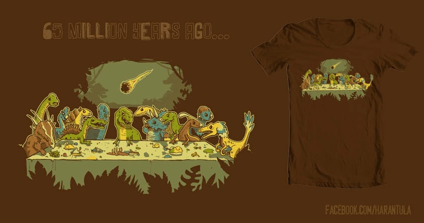 The Last Supper by Harantula on Threadless