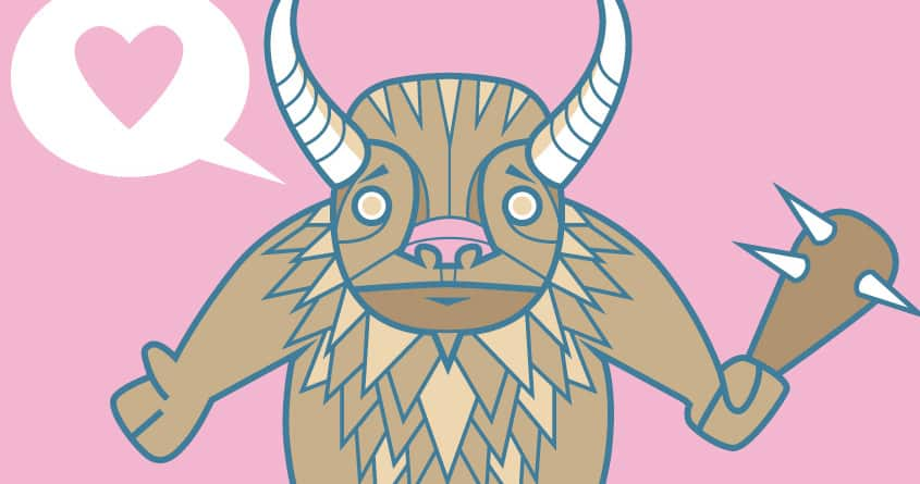 Minotaur Love? by d5christ on Threadless