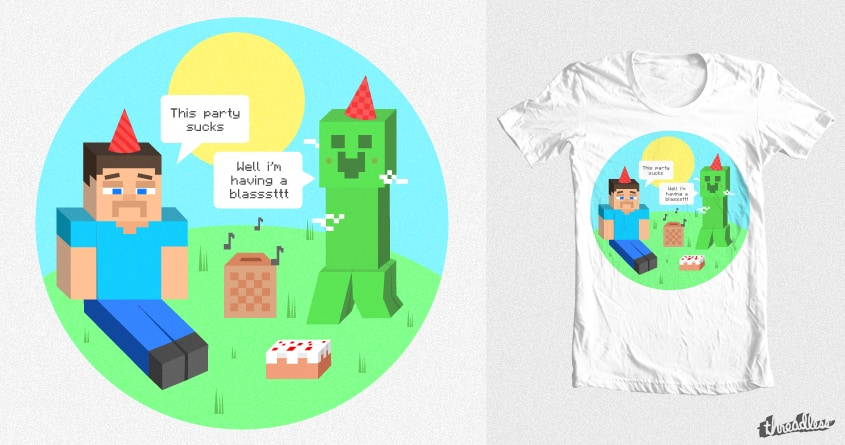 Creepers Love To Party by C.Jackson on Threadless