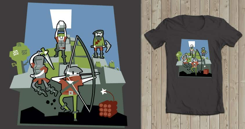 Choose Your Own Adventure by Kerry-Thomas on Threadless