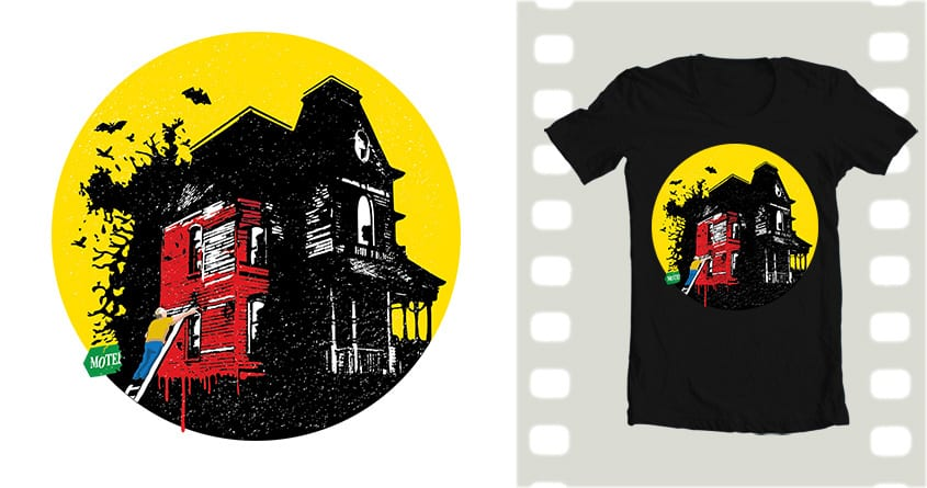 Finish painting, then a quick shower... by MrPortland on Threadless