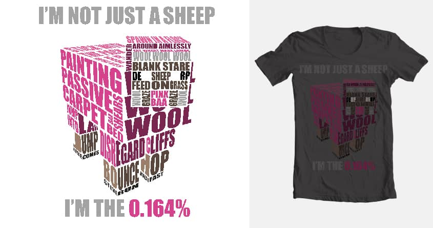 score minecraft 0 164 pink sheep tee by myke23 on threadless