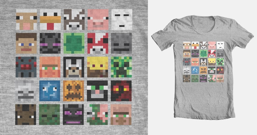 Minecraft All Mobs Faces Diy Craft
