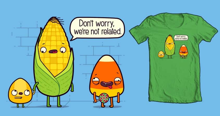 So Corny by FRICKINAWESOME and ALEJANDR0ID on Threadless