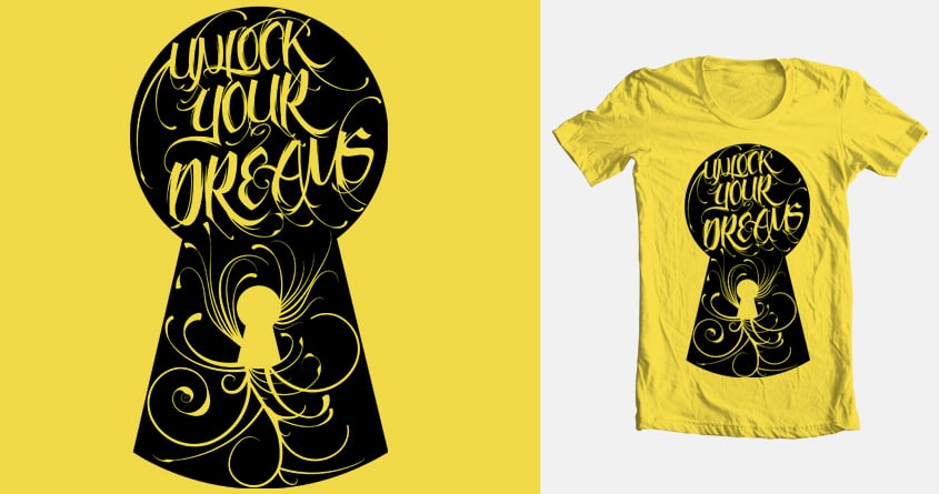 Unlock Your Dreams by nickelse on Threadless