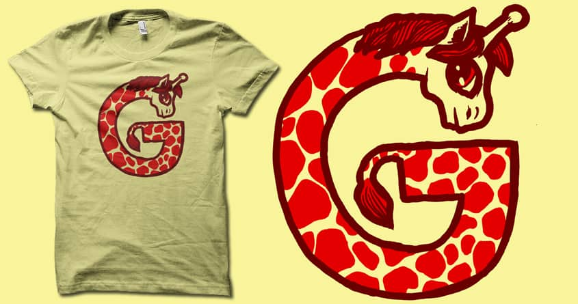 Rated G for  Giraffe by biotwist on Threadless