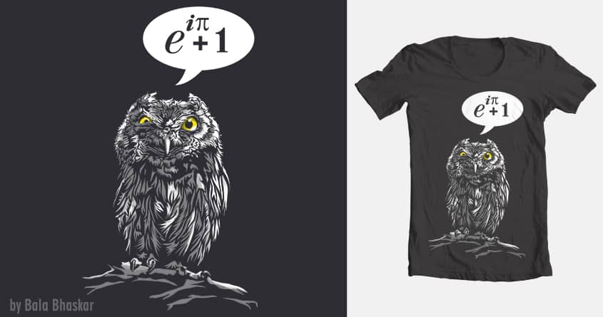 Don't give a hoot. by balanimator on Threadless