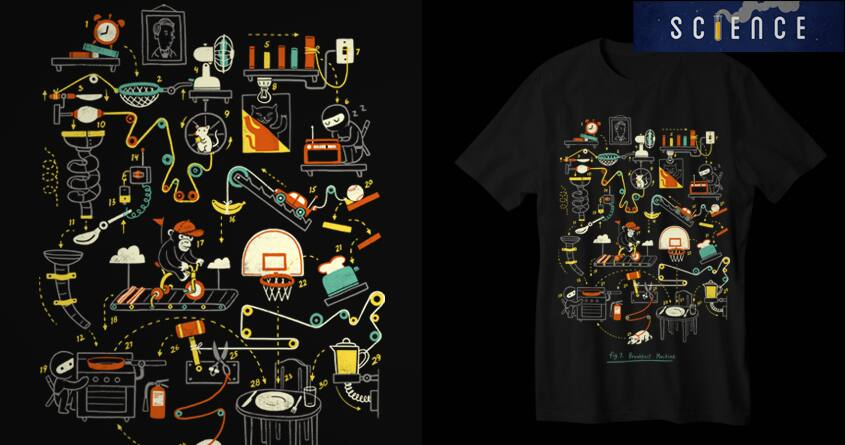 BREAKFAST MACHINE by temyongsky on Threadless