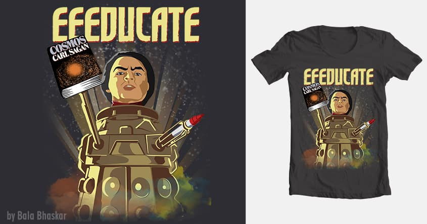 Eeeducate. by balanimator on Threadless