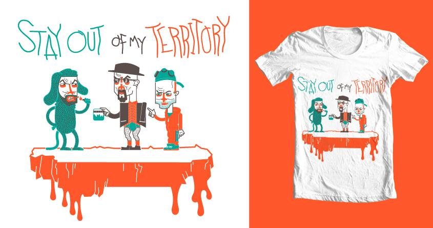 Breaking Bad by InsightCafe on Threadless