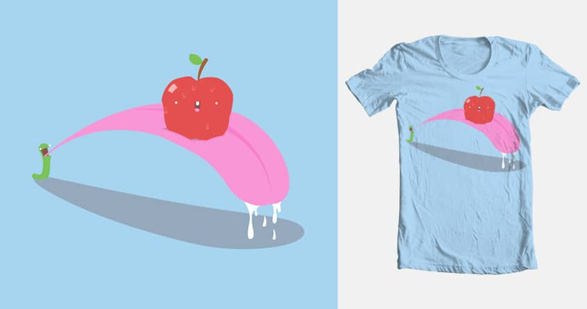 Twisted Nature: The Apple's Birth by Zach462 on Threadless