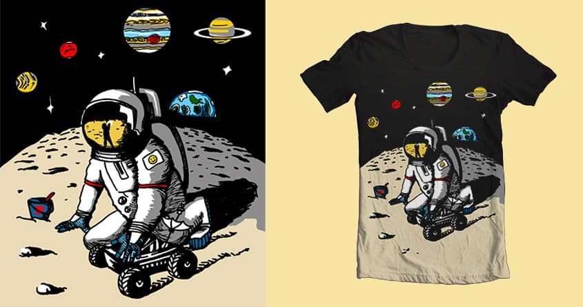 playground on moon by Susan Wagon on Threadless