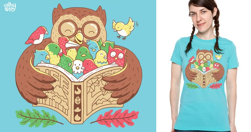 EDUCATION FOR ALL by albyletoy on Threadless