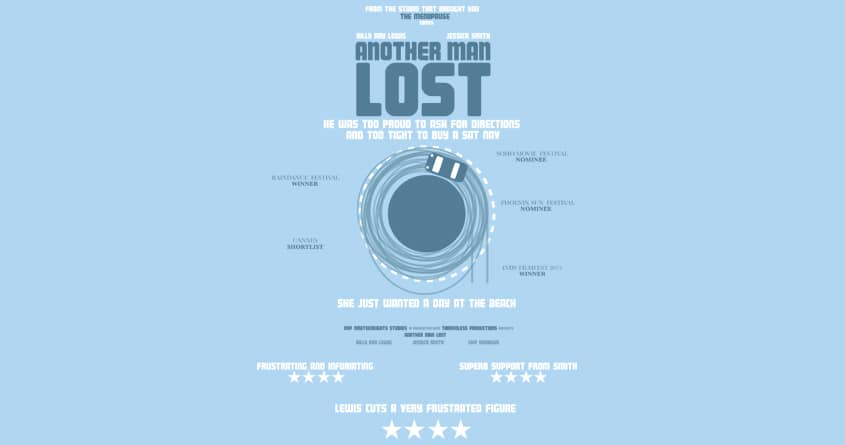 ANother man lost by mip1980 on Threadless