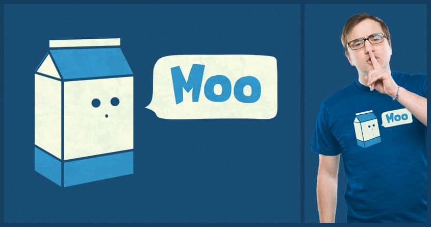 How Does Milk Sound by TeoZ on Threadless