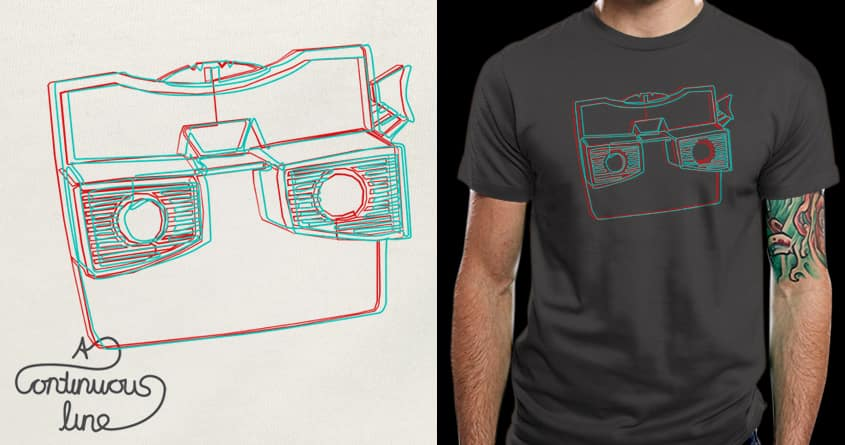 in 3D by BlancaJP on Threadless