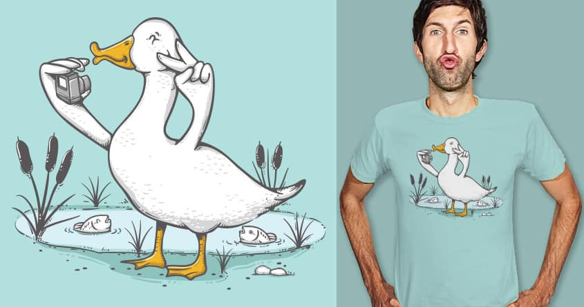 Duck Face by Robo Rat on Threadless
