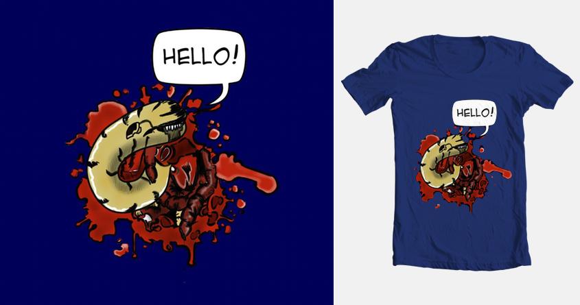 Say Hello! by Tomaha on Threadless
