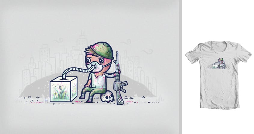 Pollution by randyotter3000 on Threadless