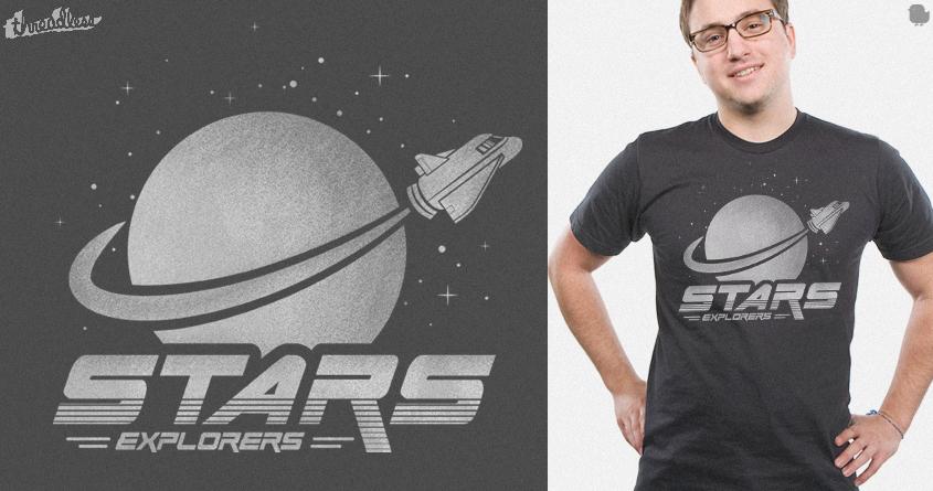 Space Explorers by Dani Martinez on Threadless