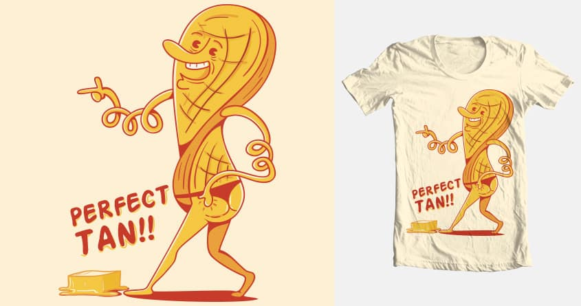 Waffles & the perfect tan. by Sr_Aderezo on Threadless