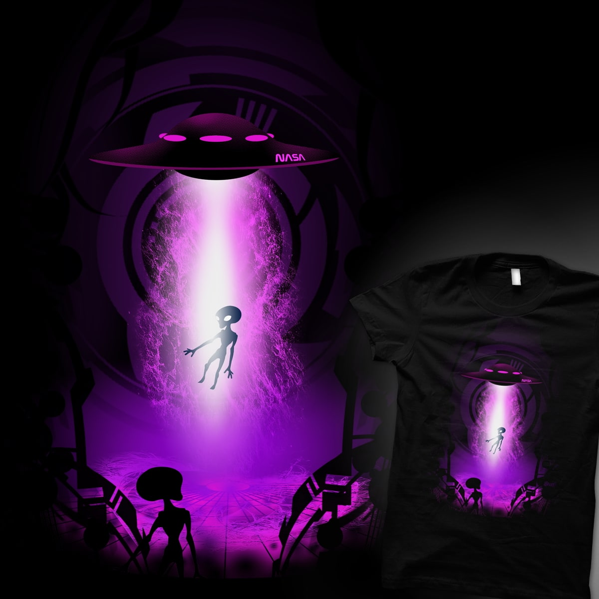 abduction by alnavasord on Threadless