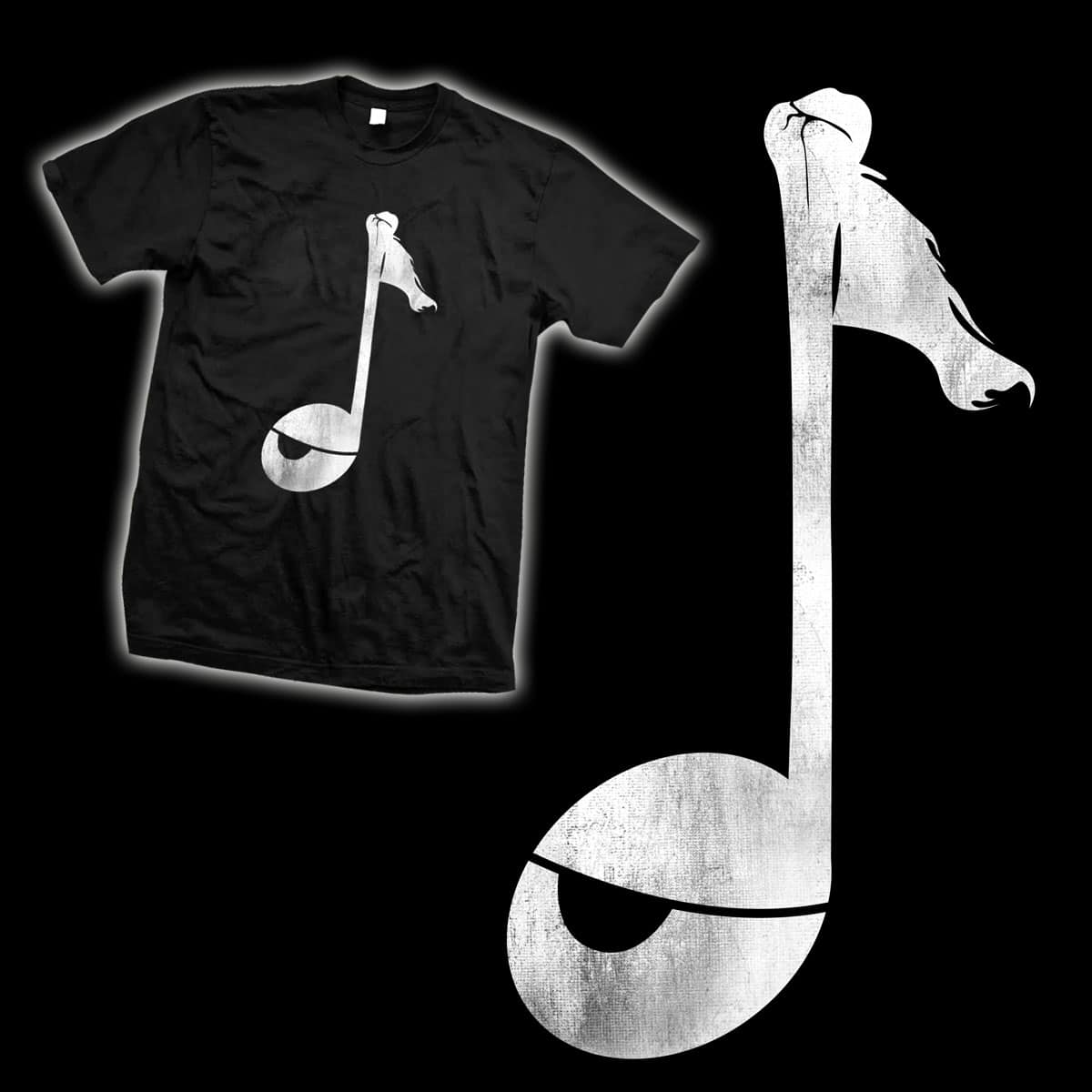 Pirate Music by mainial on Threadless