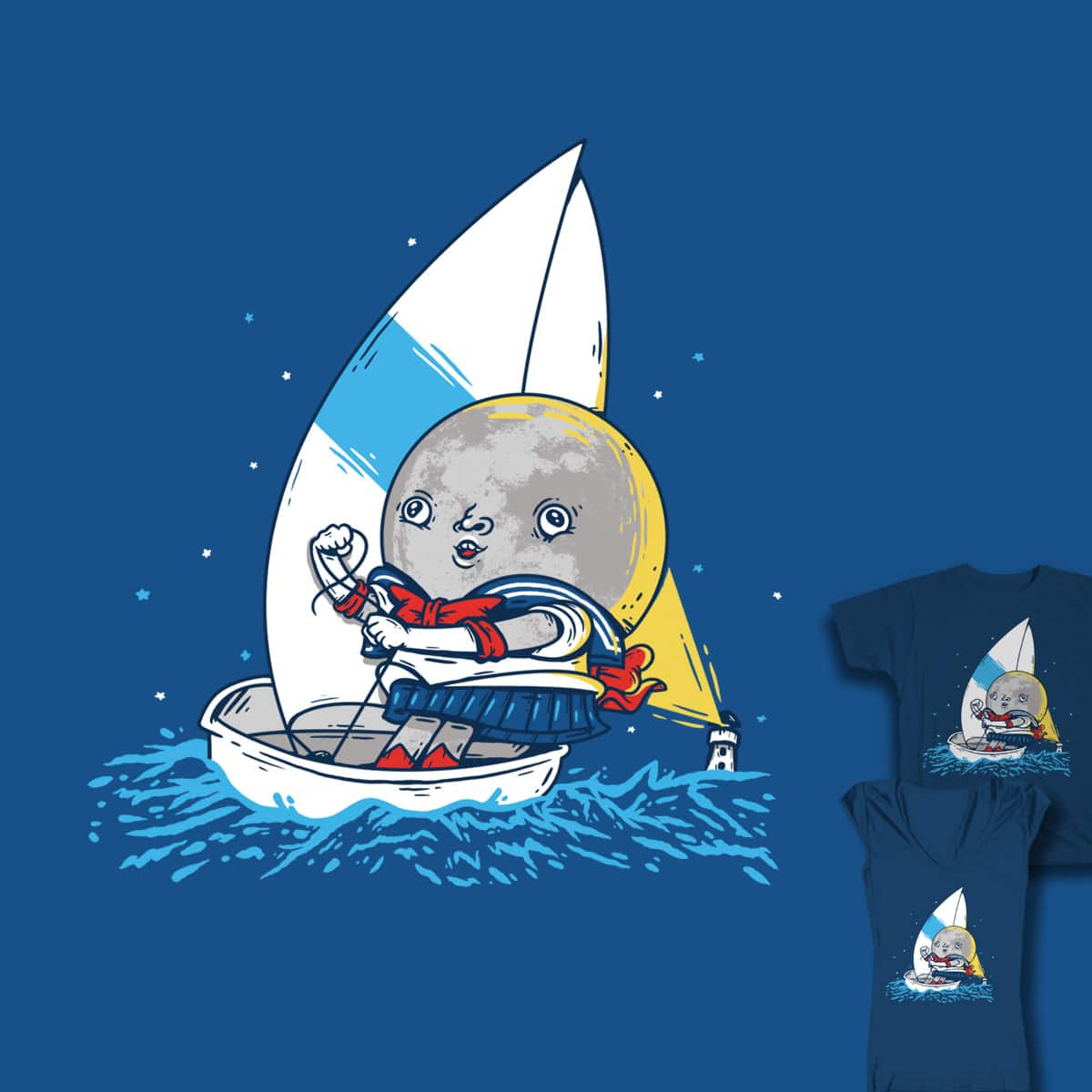 SAILOR-MOON by soloyo and zayedforsale on Threadless