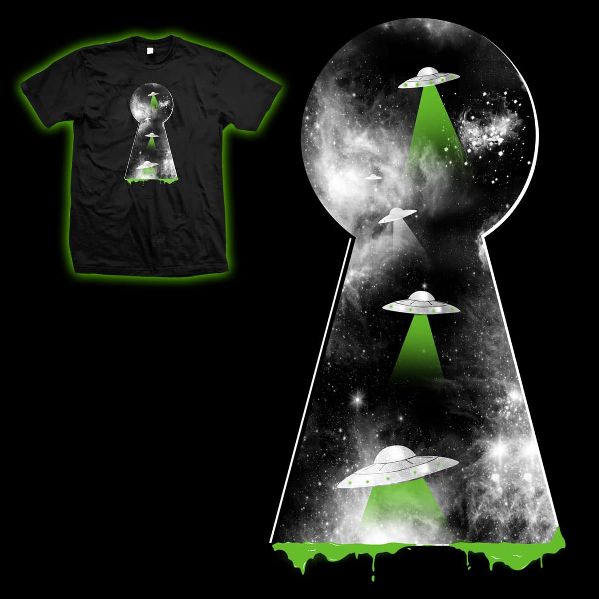 radiations by mainial on Threadless